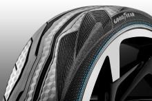 Goodyear presenterar CityCube, ett unikt konceptdäck för Toyotas konceptbil i-TRIL