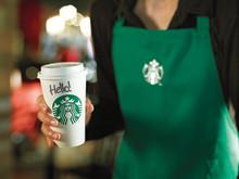 Offisiell åpning av Starbucks på Sandvika Storsenter