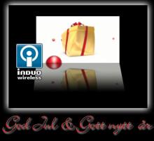 God Jul och Gott Nytt År önskar Induo
