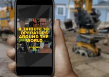Engcon hylder alle maskinfører rundt om i verden som fortsætter med at grave trods bekymringerne uden for kabinen