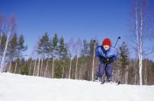 Rekordmånga svenskar till fjällen på sportlovet