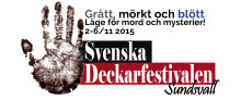 Svenska Deckarfestivalen i Sundsvall 2015