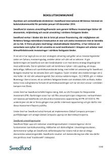 Swedfund Bokslutskommuniké 2014