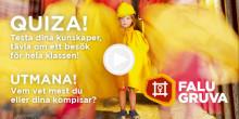 Tävla i Falu Gruvas skolquiz – vinn ett besök vid gruvan!
