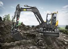 Volvo lanserar ny serie Aggressive Cut-skopor för minigrävare