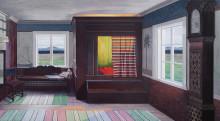 I november öppnar Ylva Ceder sin tredje separatutställning, CONFLUENCE på Wetterling Gallery