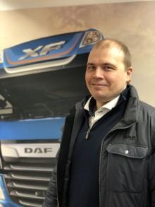 Jarmo Mäki DAF-myyntipäälliköksi Nordic Truckcenteriin