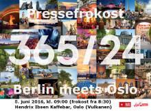 Berlin meets Oslo - innbydelse til pressefrokost