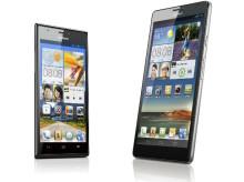 Huawei Ascend P2 och Ascend Mate kommer till Sverige