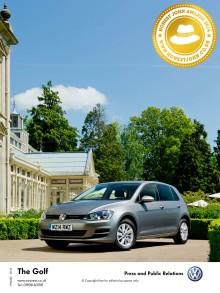 Volkswagen Golf named HonestJohn.co.uk Car of the Year for 2014