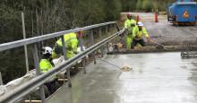 Svevia tryggar broarna i Jämtland och Västernorrland