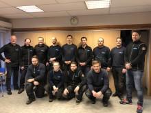 45 år med rørlegging i Porsgrunn