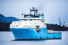 Overlevering og dåp for første fartøy i Maersk-serien