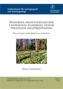 Ekosystemtjänster i kommunal planering
