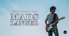 Mads Langer i koncert på Kulturværftet med Twenty-Twenty Tour 7. februar 2020