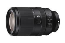 Sony vahvistaa täyden kinokoon FE-objektiivien valikoimaansa kahdella uudella objektiivilla: 70–300 mm korkearesoluutioinen zoom ja 50 mm F1.8 prime-objektiivi
