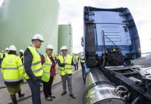 IVECO med på åpningen av Biokraft AS sitt nye anlegg på Skogn