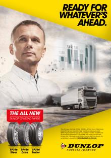 Dunlop lancerer ny serie af lastbildæk