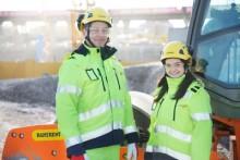 Ramirent levererar mark- och anläggningsmaskiner till ombyggnationen av Rotebroleden i Stockholm