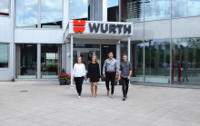 Succé för Würths försäljningsskola – nu har nya elever rekryterats