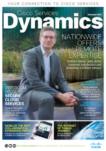 The new Cisco Services Dynamics is out