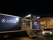 Mercedes på digitaliseringsresa genom Sverige