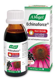 Bekjemp forkjølelsen med den effektive Echinaforce-serien fra A.Vogel