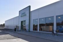 Nyöppnad träningsanläggning i Castellums lokaler på Djurgården i Linköping
