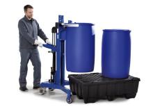 Ny fatlyft för plastfat och stålfat från DENIOS