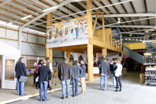 """Der neue """"Himmel der Bayern"""" – ein erster Blick auf's Hacker-Festzelt 2016"""
