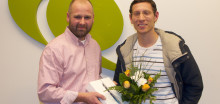 QuestBack gratulerar vinnaren av en Ipad Air!