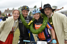 Emil Lindgren och Elisabeth Sveum vann Cykelvasan 90 2019