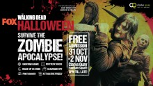 The Zombie Apocalypse is here: FOX The Walking Dead invades Clarke Quay this Halloween