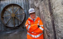 Cabinet Secretary visits Shieldhall Tunnel Project