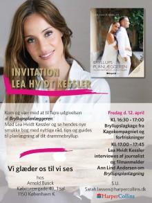 Reception for Bryllupsplanlæggeren af Lea Hvidt Kessler