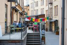 Streetfood och vegetariskt i Knäppingsborg