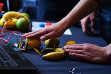 Förarlösa fordon och strömförande bananer på ForskarFredag