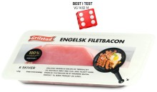 Grilstad Engelsk Filetbacon, BEST I TEST