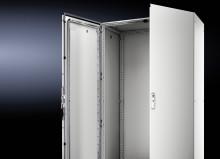 Rittal levererar montagefördelar med nya golvskåpet VX25