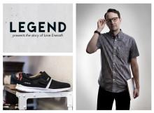 Fd skateboardproffset Love Eneroth frontar skokampanj för LEGEND