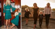 Ellos og søstrene Fahrman lager festkolleksjon for  mor og barn