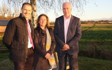 Breath of fresh air for Northants village as wind farm helps fund fibre broadband