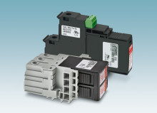 Surge protection for rack mounting