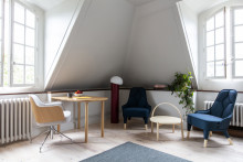 Press release: Gärsnäs designs an apartment at the Swedish Institute in Paris