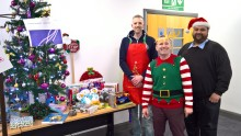 Openreach brings festive cheer to young people in Leicester