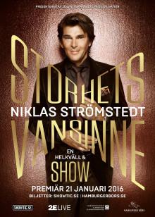 Niklas Strömstedt showposter