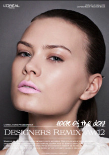 L'ORÉAL PARIS LOOK OF THE DAY // DESIGNERS REMIX AW 12