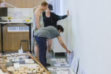 Arkitektstudenter ställer ut om landsbygdsutveckling och sociala mötesplatser