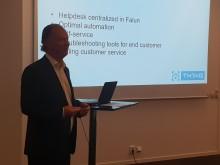 TH1NGs etablering på den Svenska telekommarknaden presenterades för en delegation från Österrike