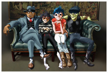 Gorillaz lanserar en Mixed Reality App!